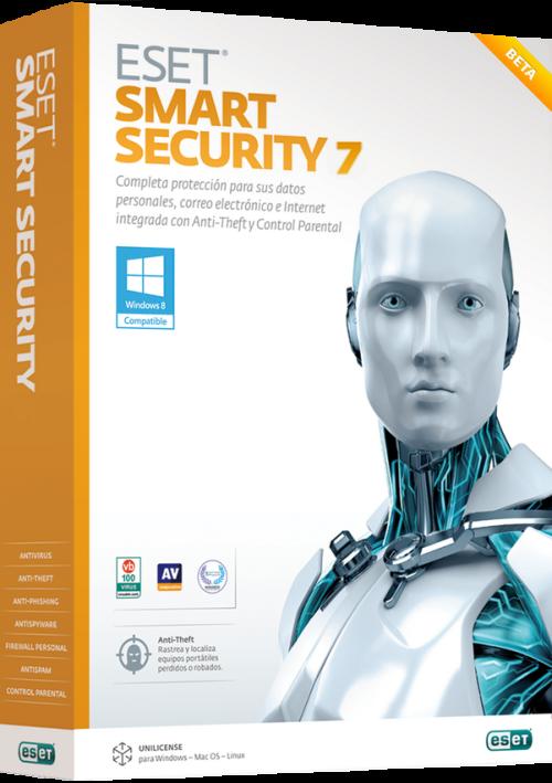 Комплексный антивирус ESET NOD32 Smart Security 7
