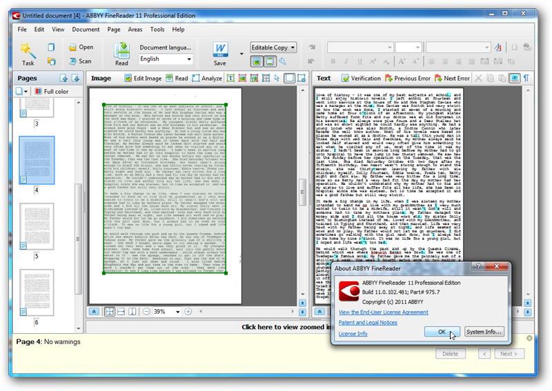 Abbyy finereader 11 - скачать новую версию лучшей программы для распознаван