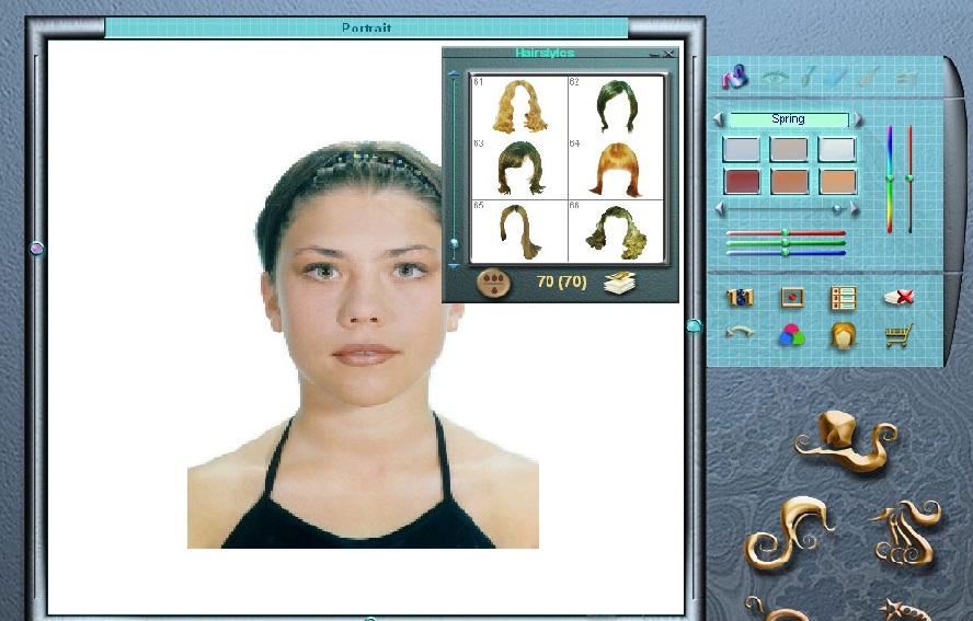 моделирование прически по фотографии программа