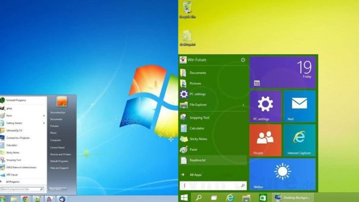 Windows 7 или Windows 8 - что лучше?