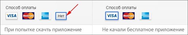 Регистрация в Itunes без банковской карты